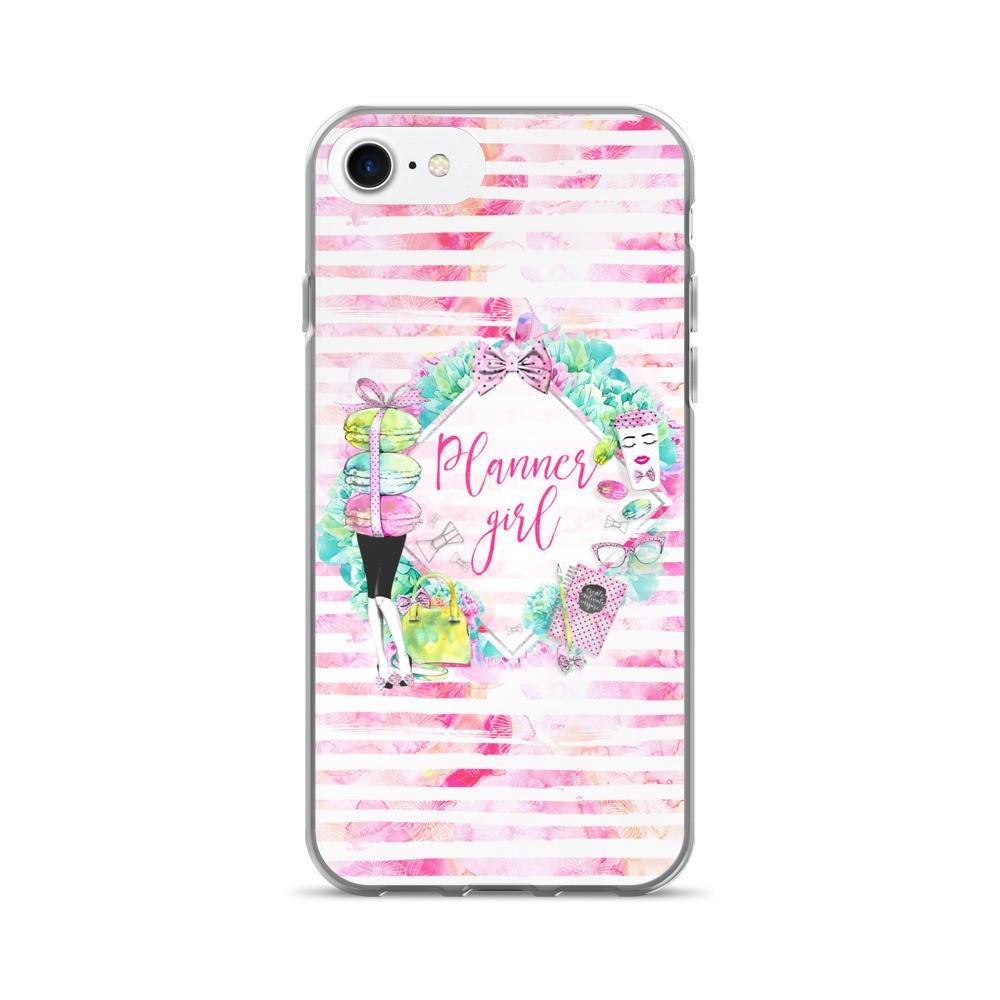 'Stylish Planner Girl' iPhone iPhone 7/7 Plus Case - That Moxie Chick Studio