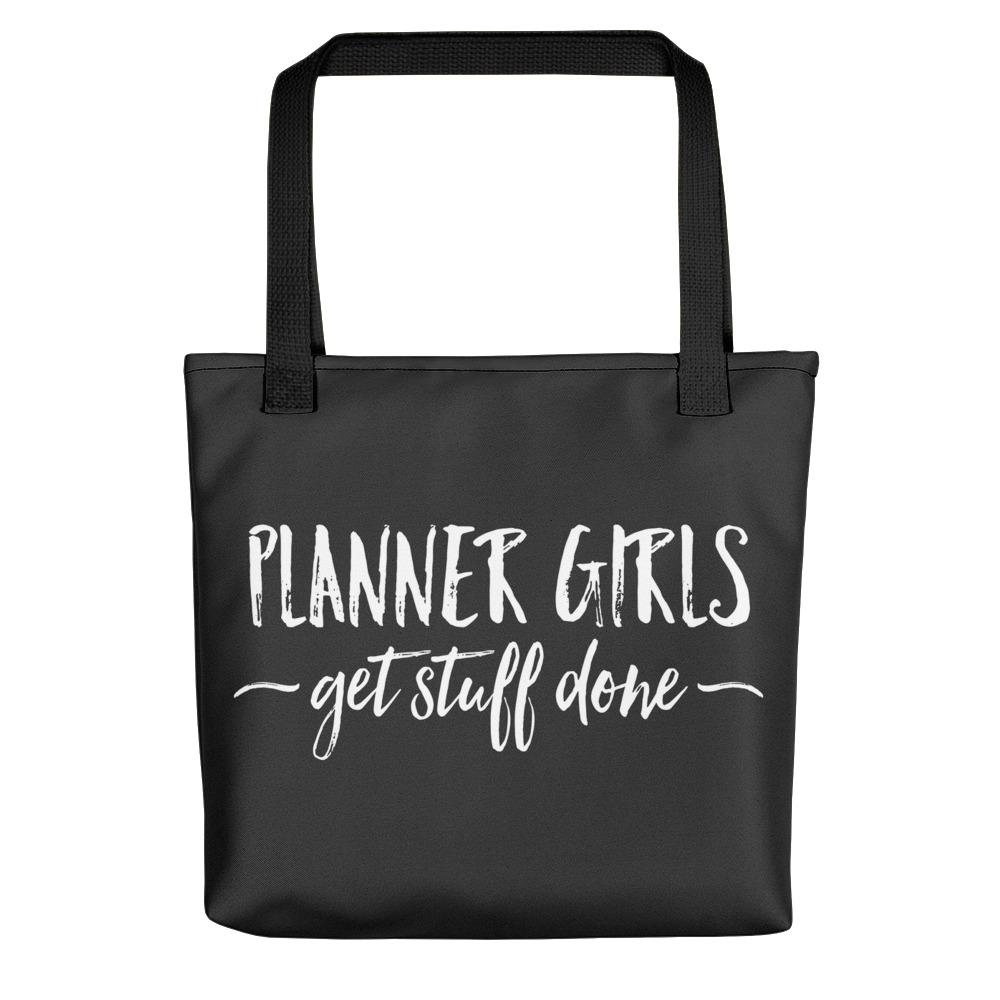 Planner Girls Get Stuff Done Tote bag //New Release