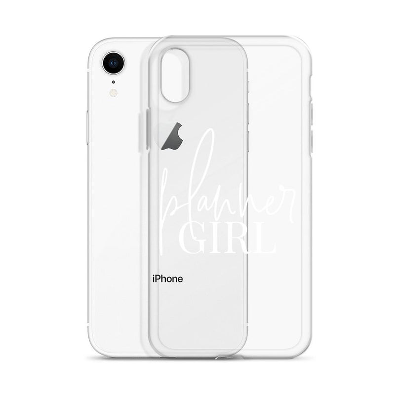 "Planner Girl ""White Wording"" iPhone Case // New Release"