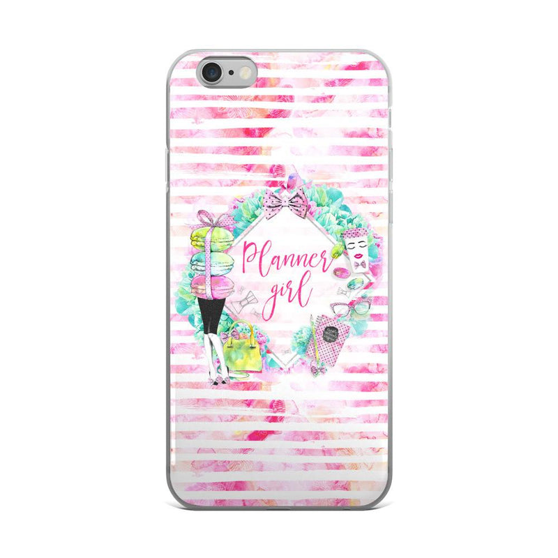 'Stylish Planner Girl' iPhone 5/5s/Se, 6/6s, 6/6s Plus Case - That Moxie Chick Studio