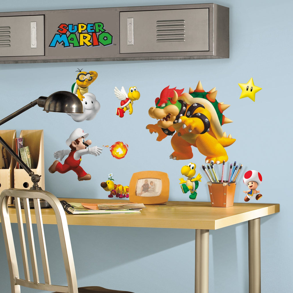 High Quality Super Mario Wall Decals   7ProductGroup
