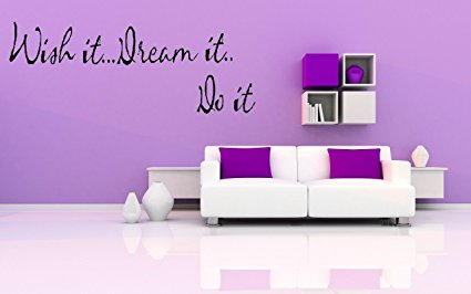 7ProductGroup Inspirational Quote Saying Wall Sticker - 7ProductGroup