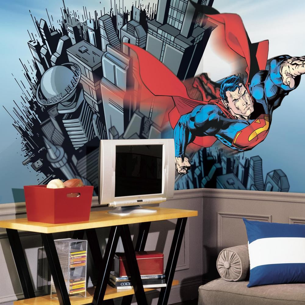Superman XL Wallpaper Mural 10.5' x 6' - 7ProductGroup