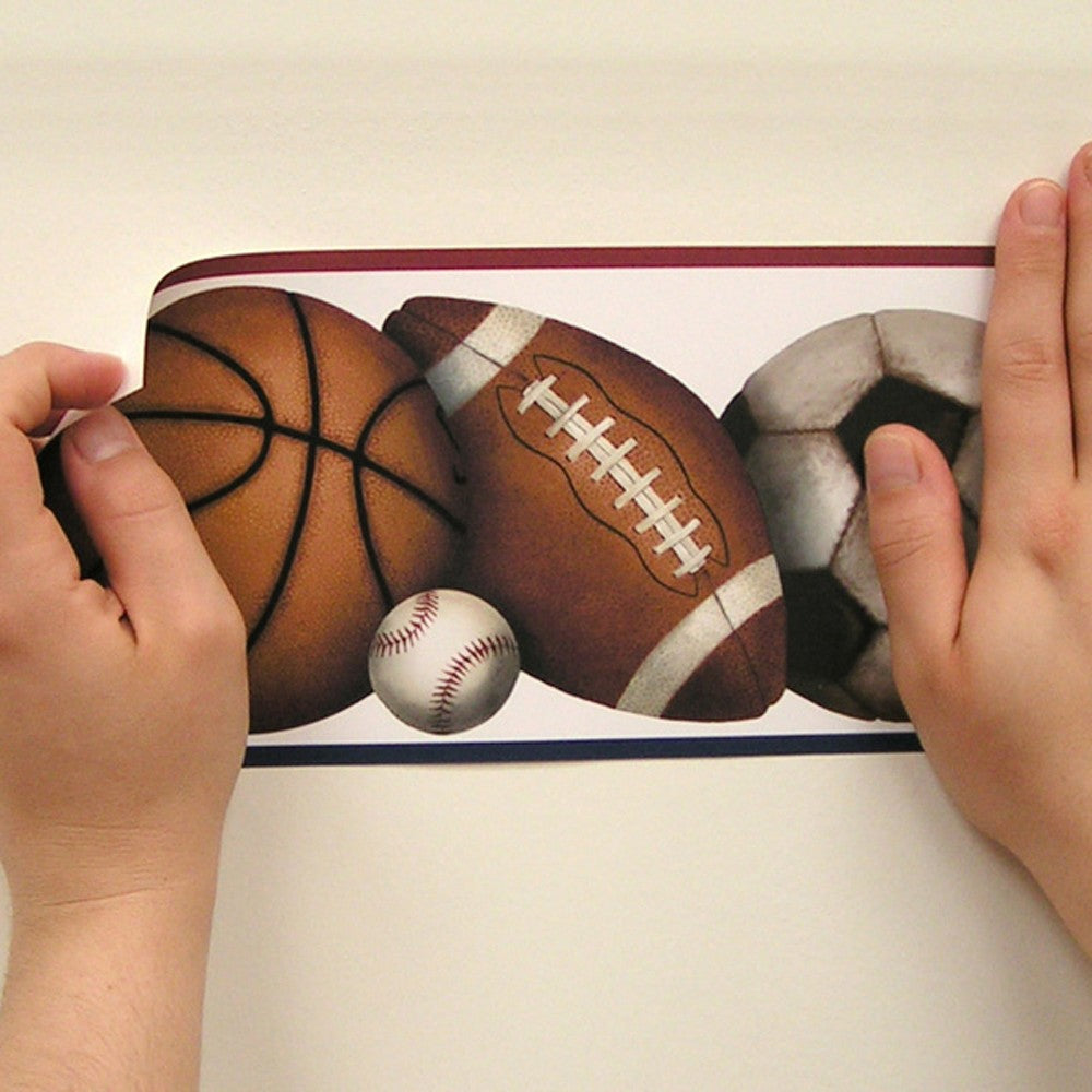 Play Ball Peel & Stick Border - 7ProductGroup