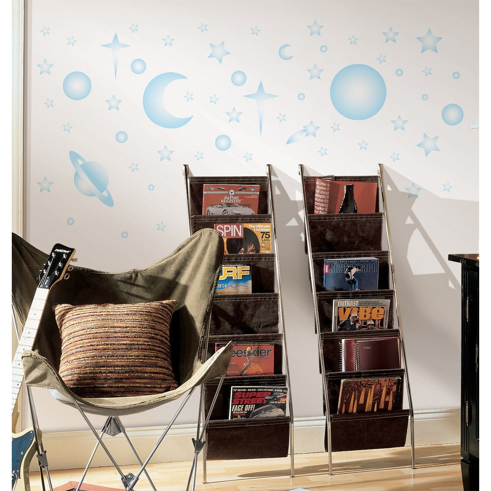 Celestial Stars & Planets Glow in the Dark Wall Decals - 7ProductGroup