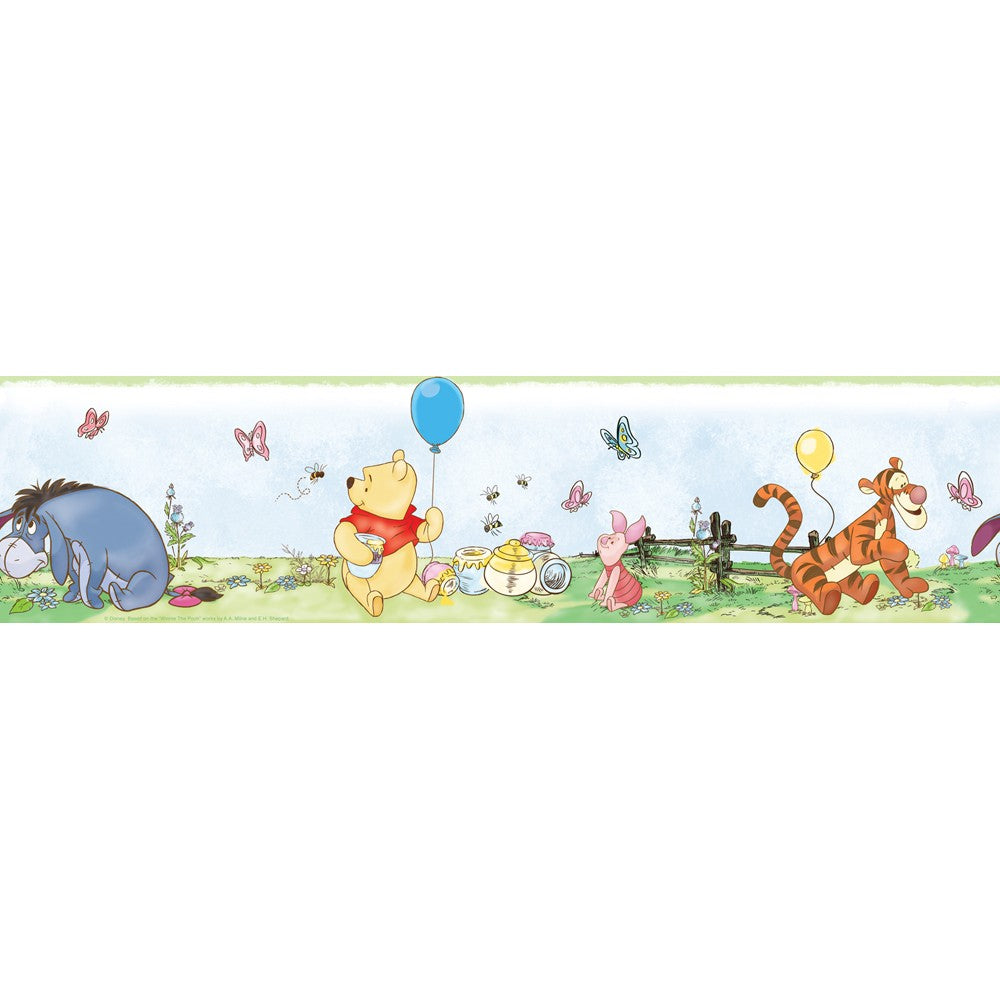 Winnie the Pooh Peel & Stick Wall Border - 7ProductGroup