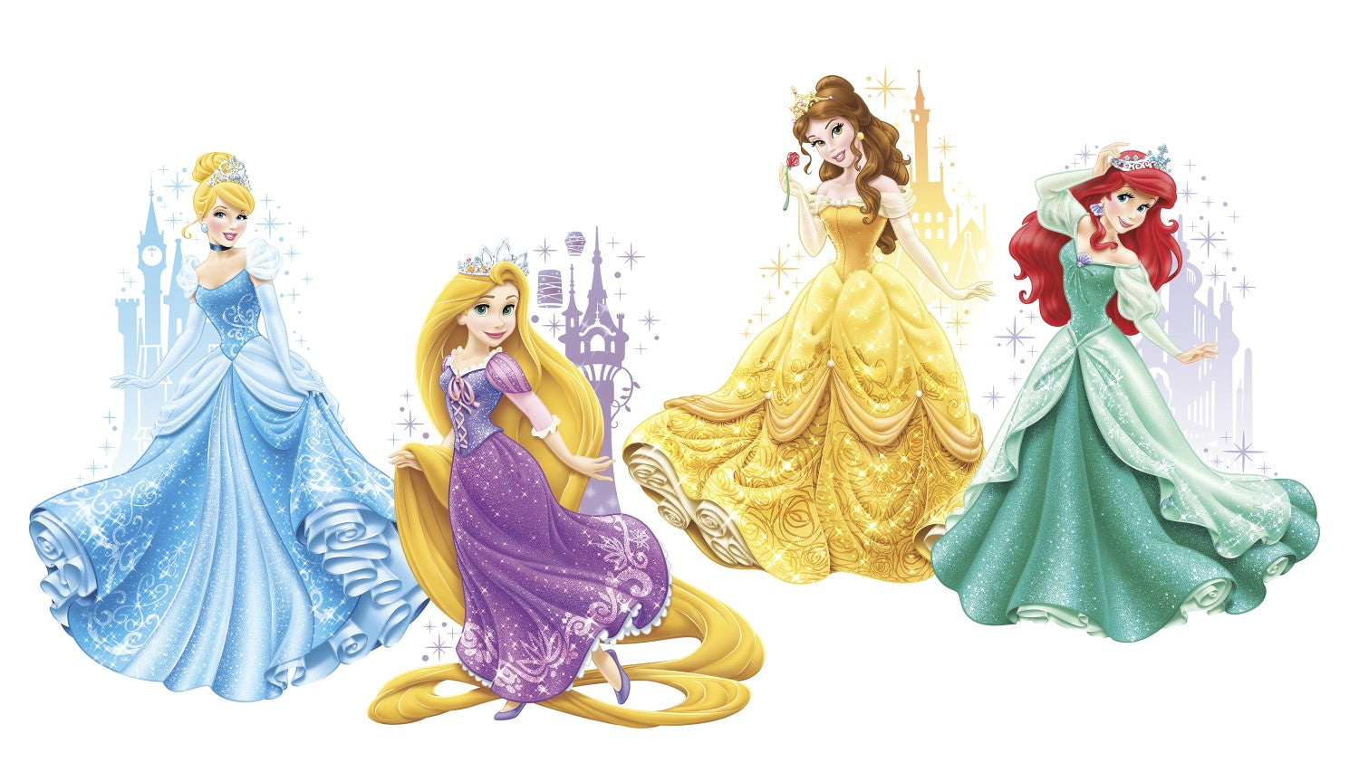 Magnificent Disney Princess Wall Art Canvas Photo - The Wall Art ...