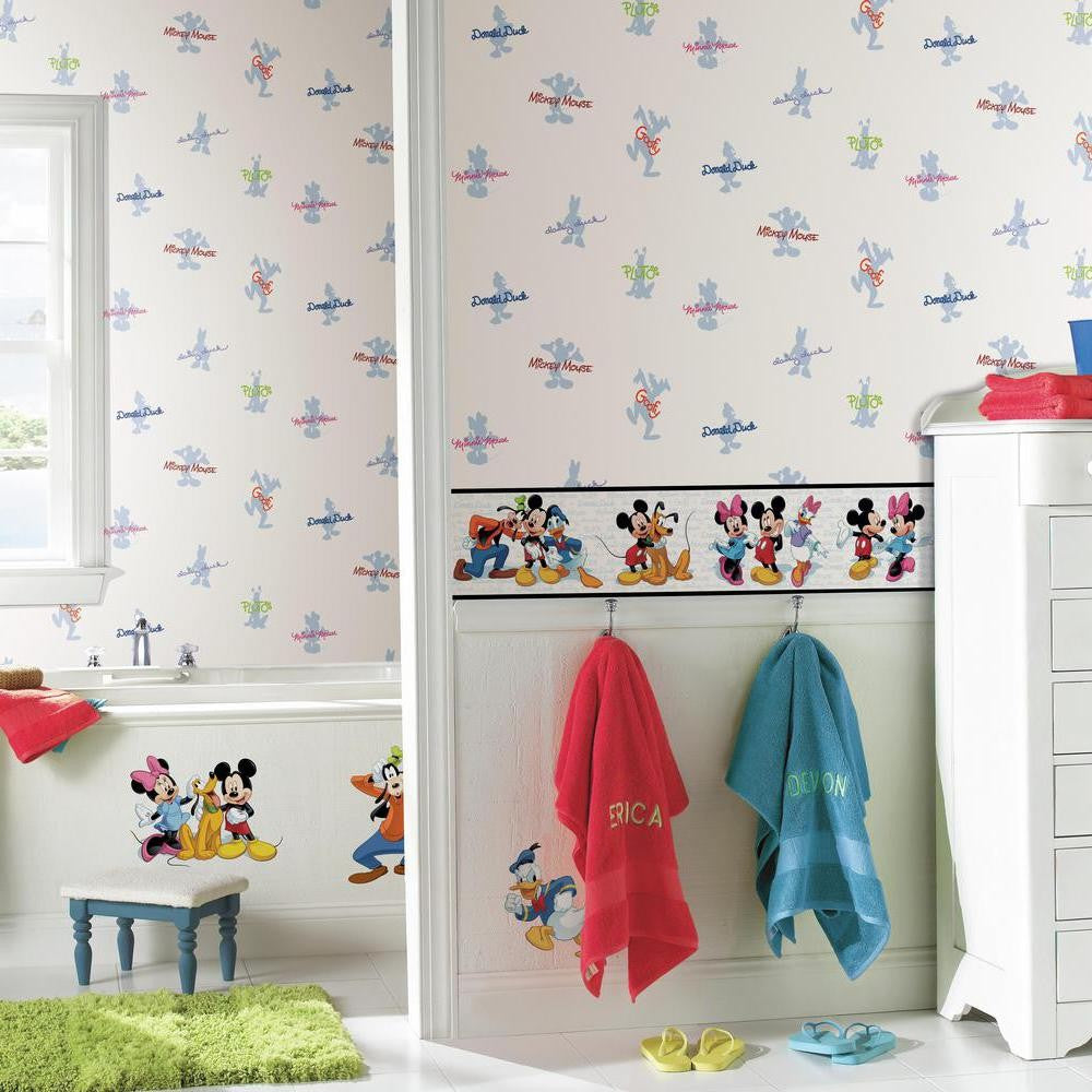 Mickey & Friends Wallpaper Border - 7ProductGroup