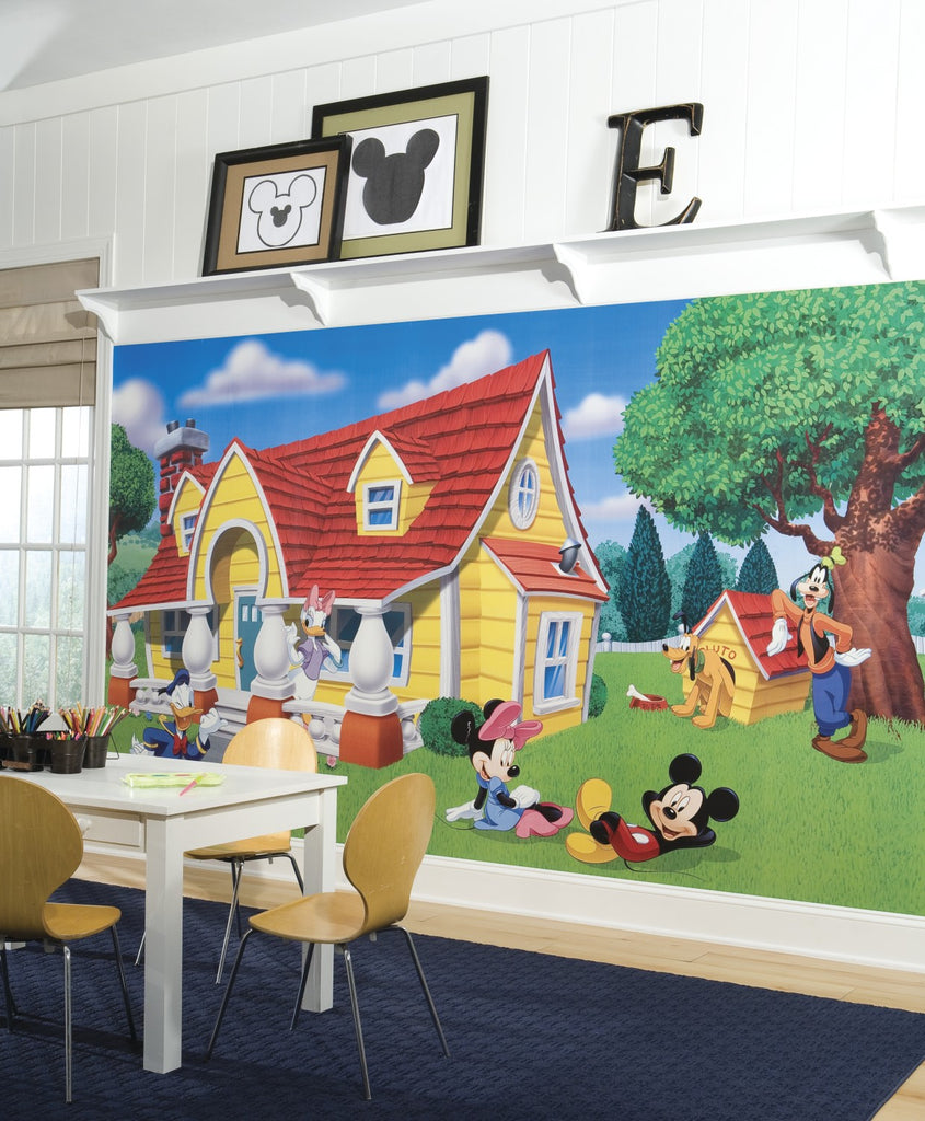 Mickey & Friends XL Wallpaper Mural 10.5' x 6' - 7ProductGroup