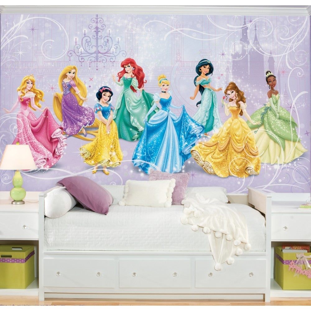 Disney Princess Royal Debut XL Wallpaper Mural 10.5' x 6' - 7ProductGroup