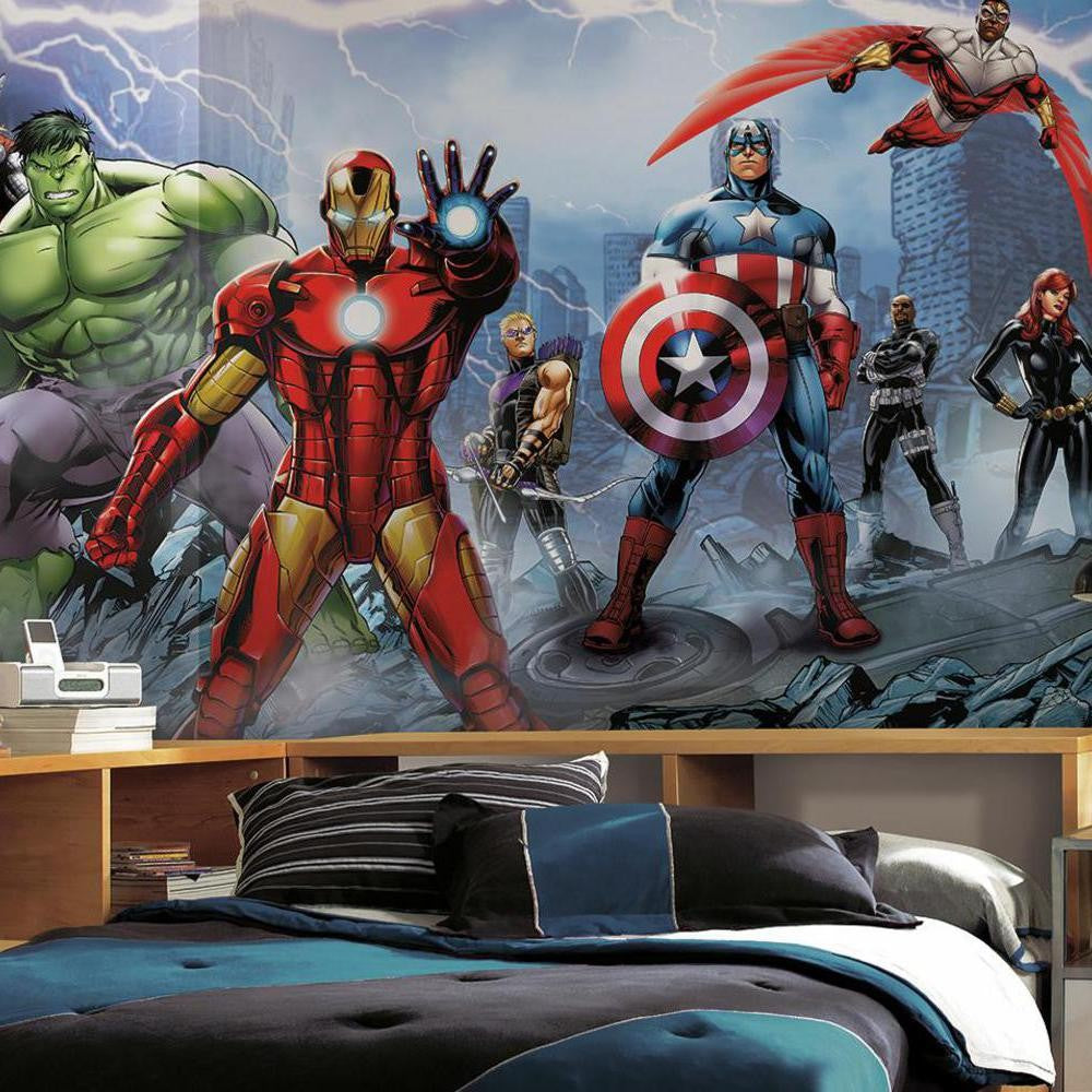 Avengers Assemble XL Wallpaper Mural 10.5' x 6' - 7ProductGroup