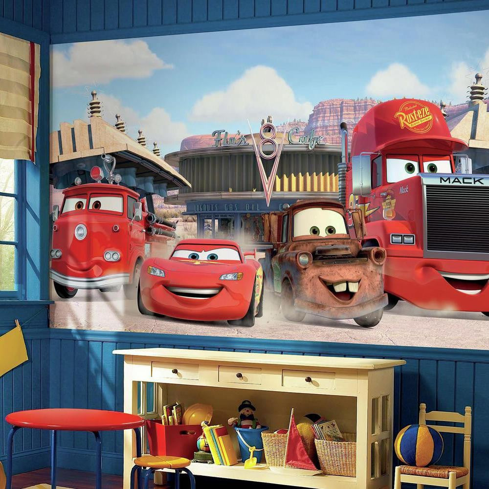 Disney∙Pixar Cars Friends to the Finish XL Wallpaper Mural 10.5' x 6' - 7ProductGroup
