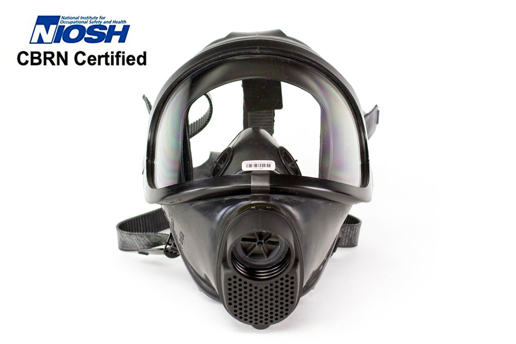 CDR  4500 Elite  Gas  Mask  For Nuclear, Biological  &  Chemical  Warfare  Protection –Military Grade  US  NIOSH  Certified  Survival  Full Face  Mask  With Filter  For  Kids  & Adults, Comfortable & Robust Design - 7ProductGroup