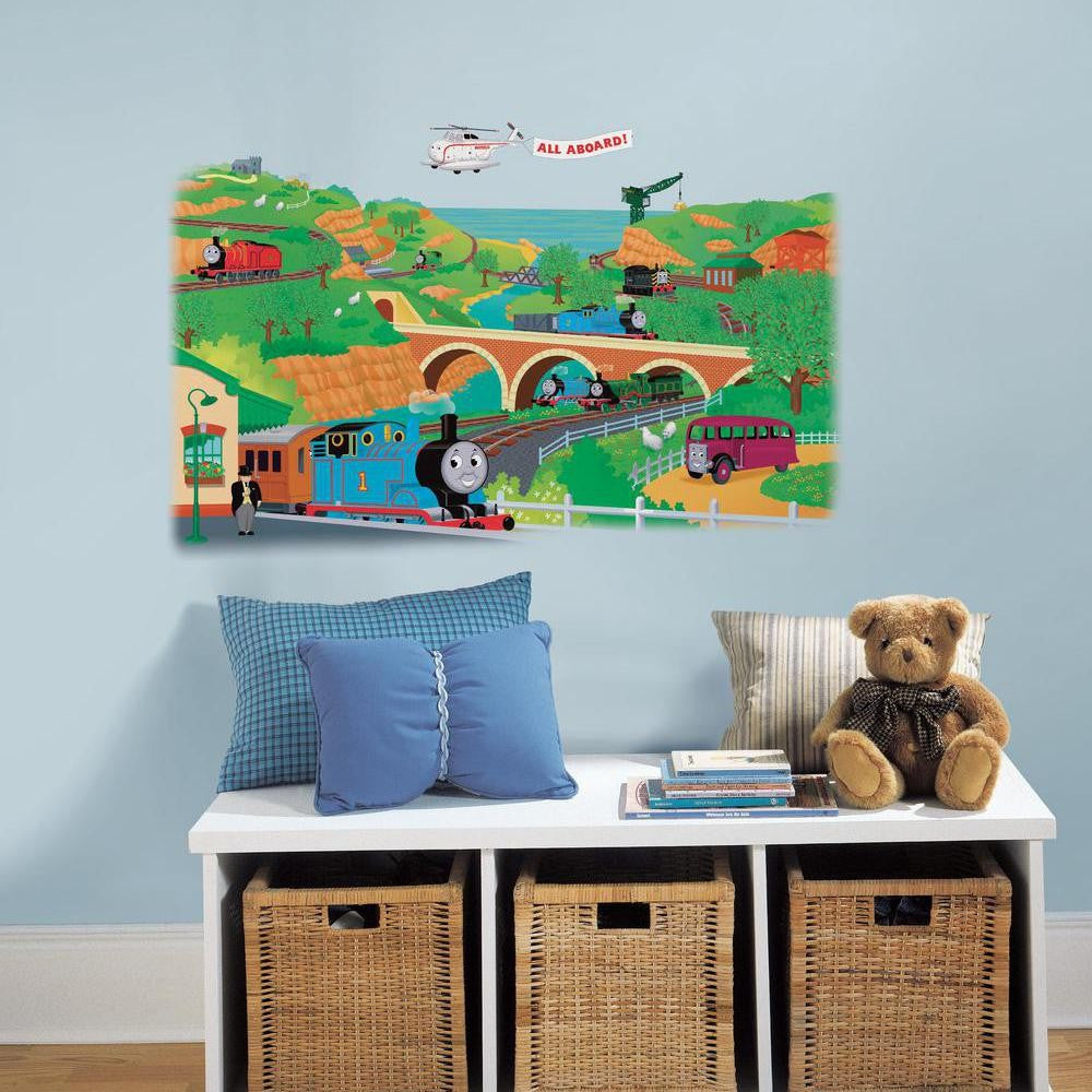 Thomas & Friends Giant Wall Decal - 7ProductGroup