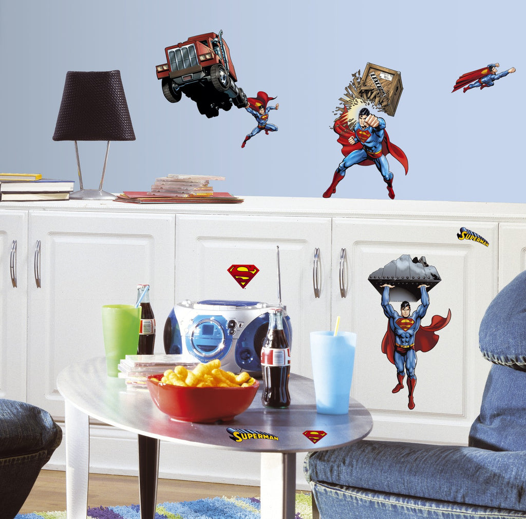 Superman: Day Of Doom Wall Decals - 7ProductGroup