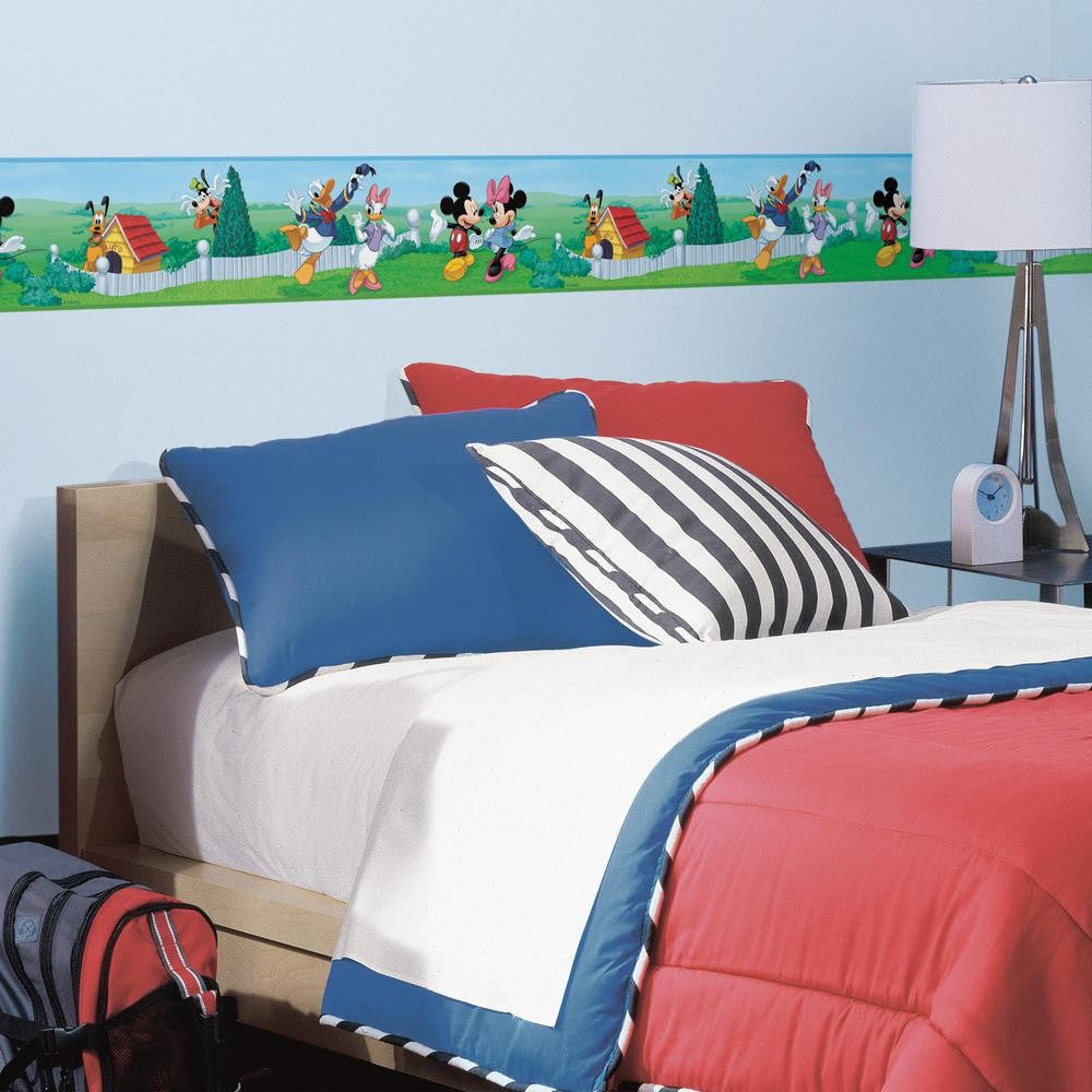 Mickey & Friends Peel & Stick Border - 7ProductGroup
