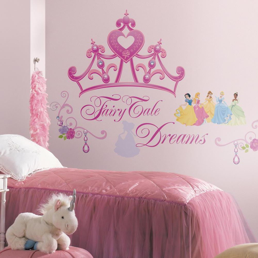 Disney Princess Crown Giant Wall Decals - 7ProductGroup