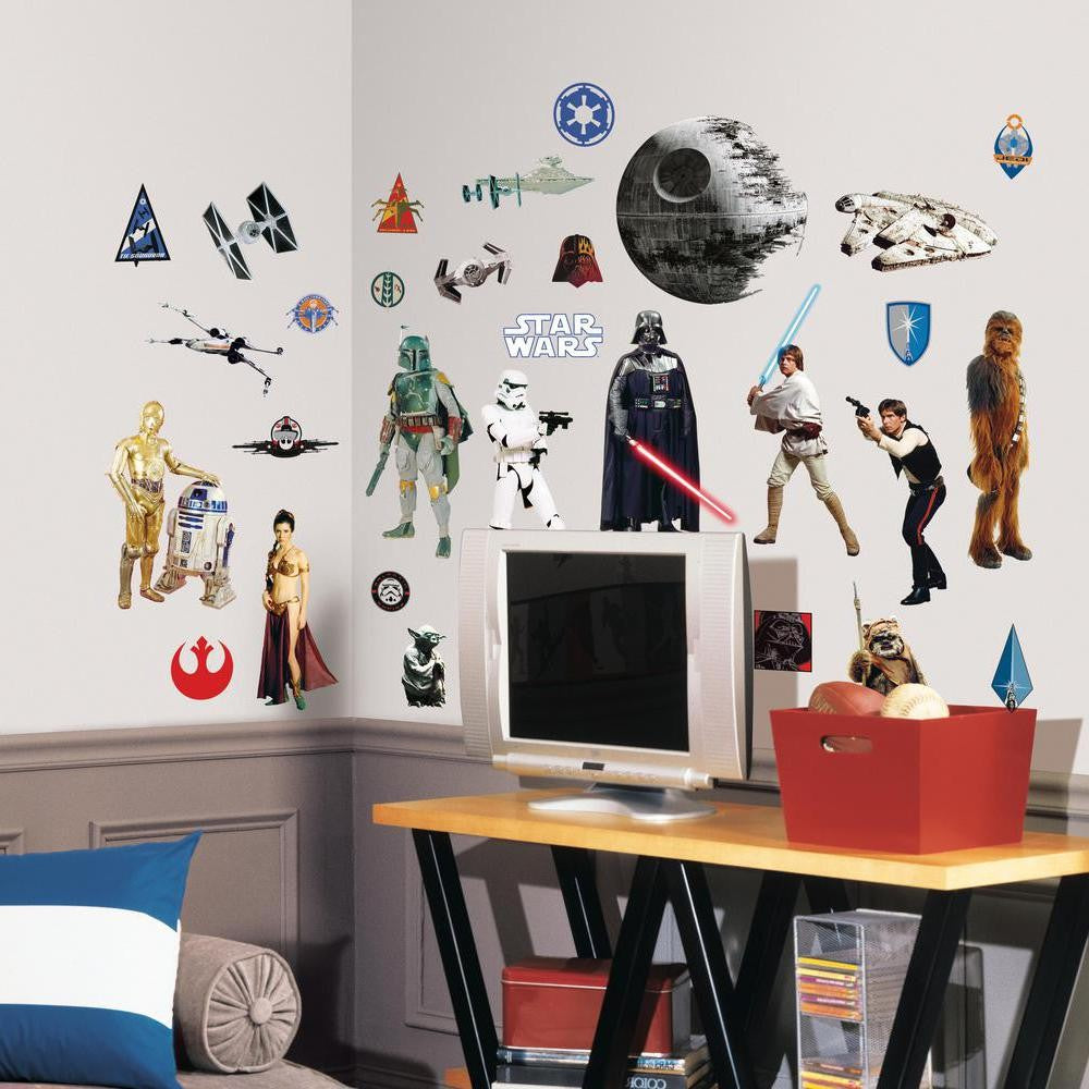Star Wars™ Classic Wall Decals - 7ProductGroup