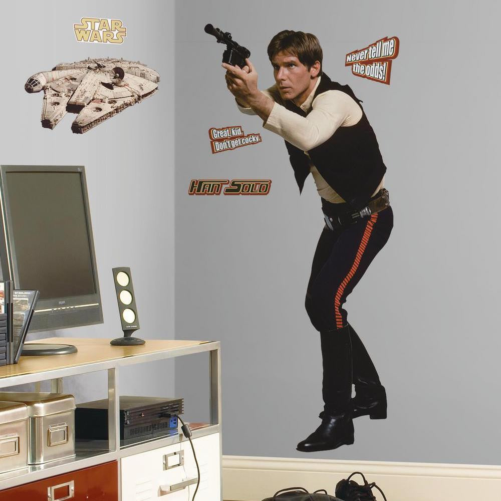Star Wars™ Han Solo™ Giant Wall Decal - 7ProductGroup