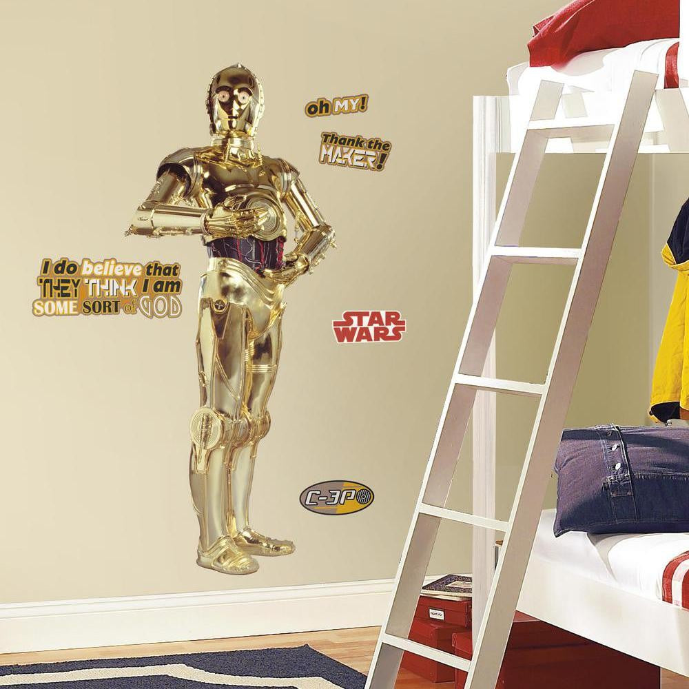 Star Wars™ C-3PO™ Giant Wall Decal - 7ProductGroup