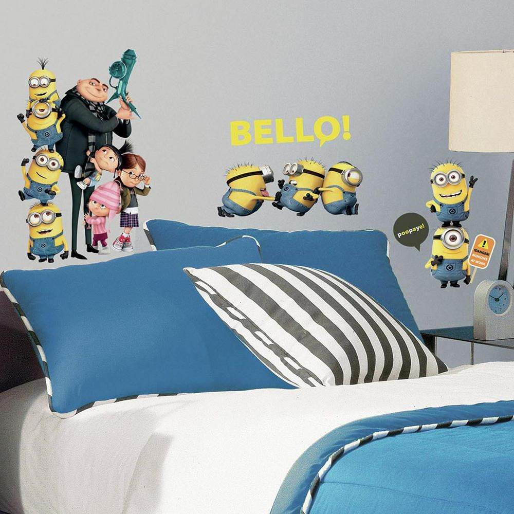 Despicable Me 2 Wall Decals - 7ProductGroup