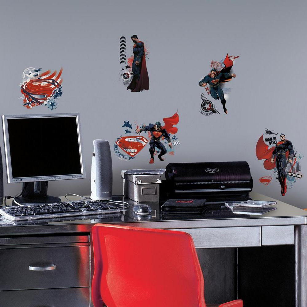 Superman™: Man of Steel Wall Decals - 7ProductGroup