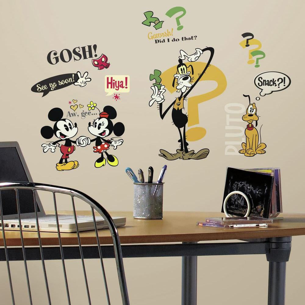 Mickey Mouse Cartoons Wall Decals - 7ProductGroup