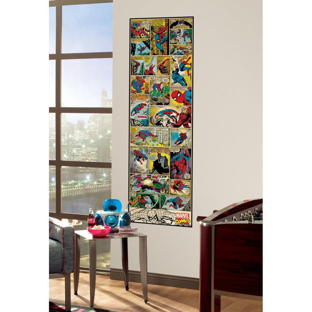 Classic Spider-Man Comic Book Wall Panel - 7ProductGroup