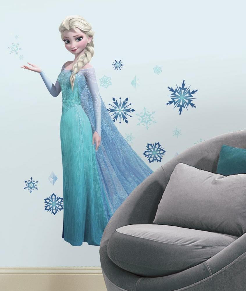 Frozen Elsa Giant Wall Decals with Glitter - 7ProductGroup