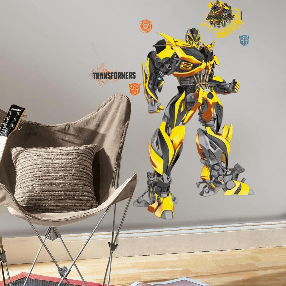 Transformers: Age of Extinction Bumblebee Giant Wall Decal - 7ProductGroup