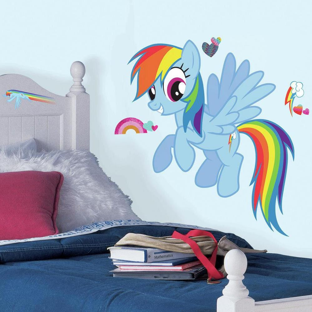 My Little Pony Rainbow Dash Giant Wall Decals - 7ProductGroup