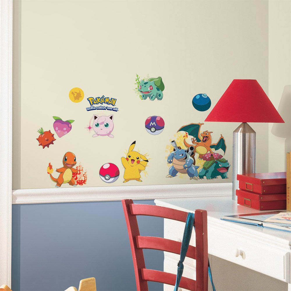 Iconic Pokemon Wall Decals - 7ProductGroup