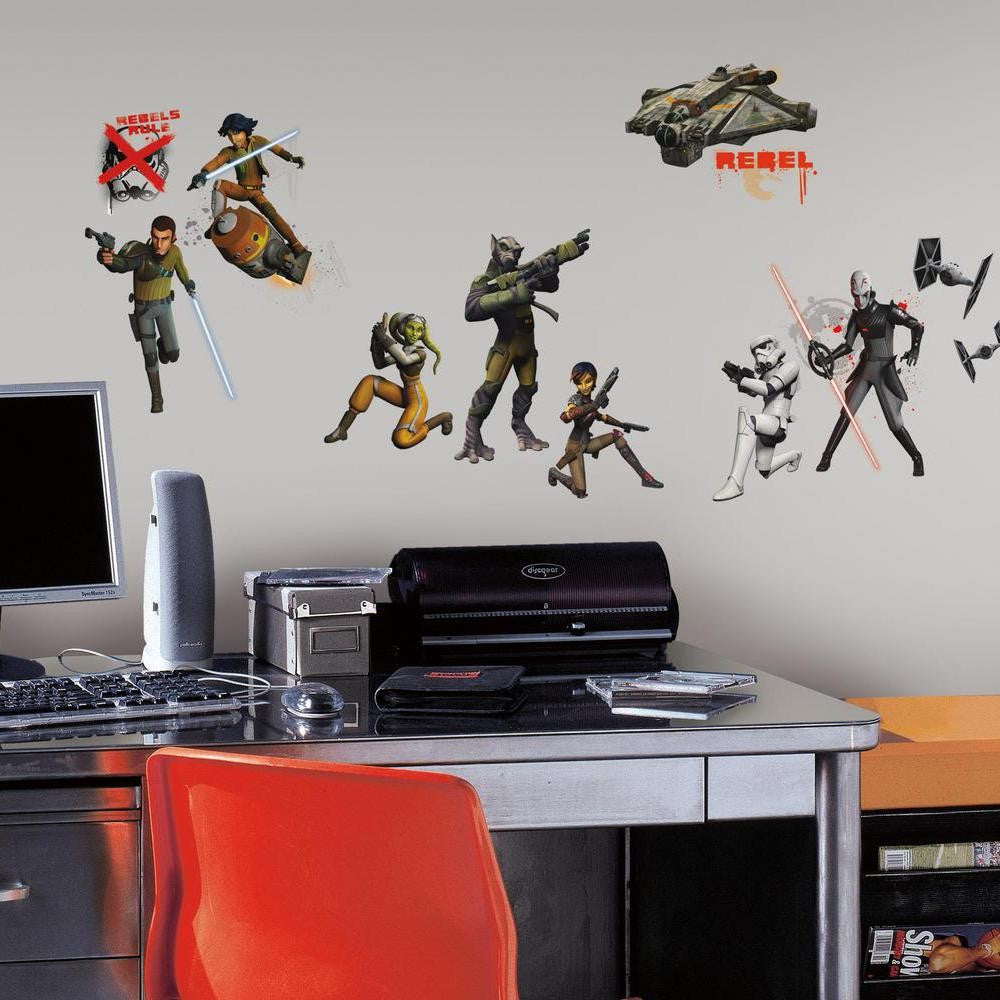 Star Wars Rebels Glow-in-the-Dark Wall Decals - 7ProductGroup