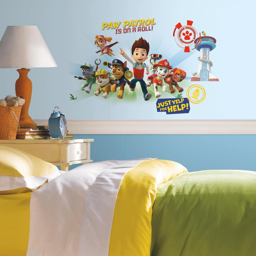 Paw Patrol Peel and Stick Wall Graphics - 7ProductGroup