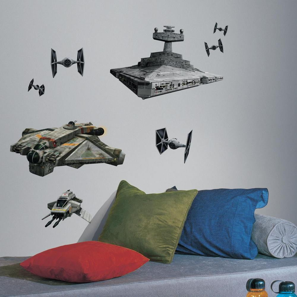 Star Wars Rebels & Imperial Ships Giant Wall Decals - 7ProductGroup