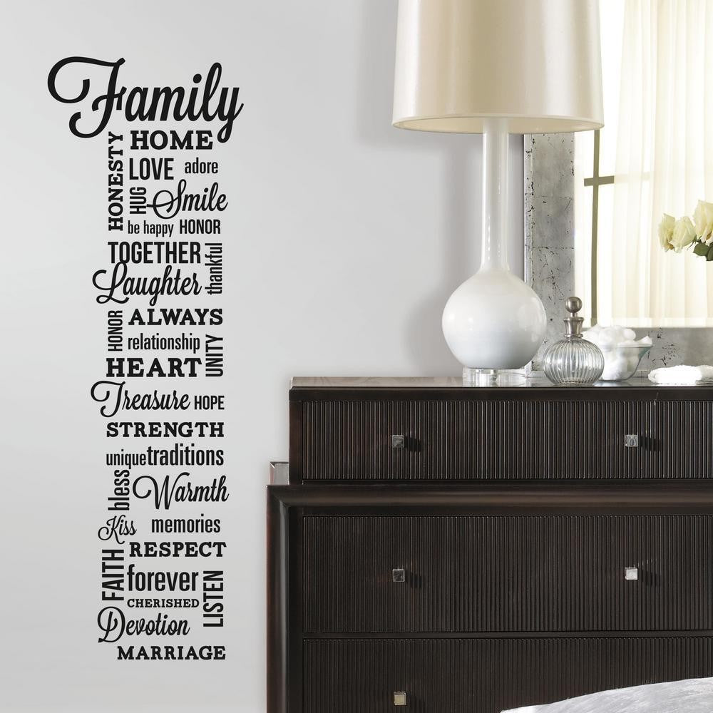 Family Quote Wall Decals - 7ProductGroup