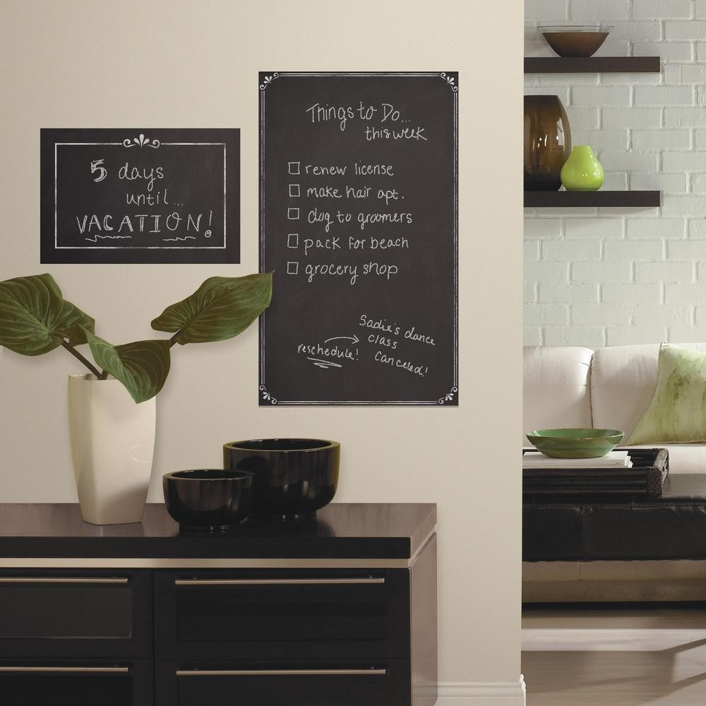 Decorative Chalkboard Giant Wall Decals - 7ProductGroup
