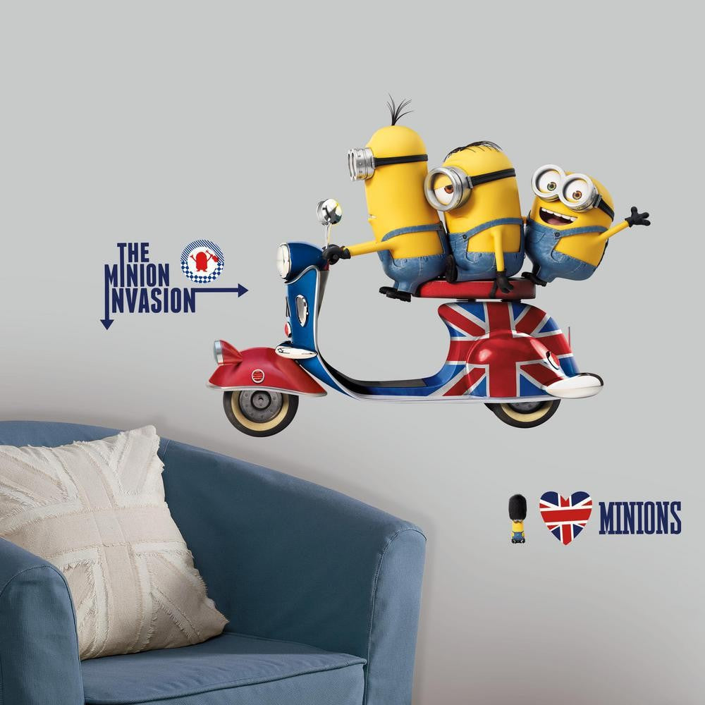 Minions The Movie Giant Wall Decals - 7ProductGroup