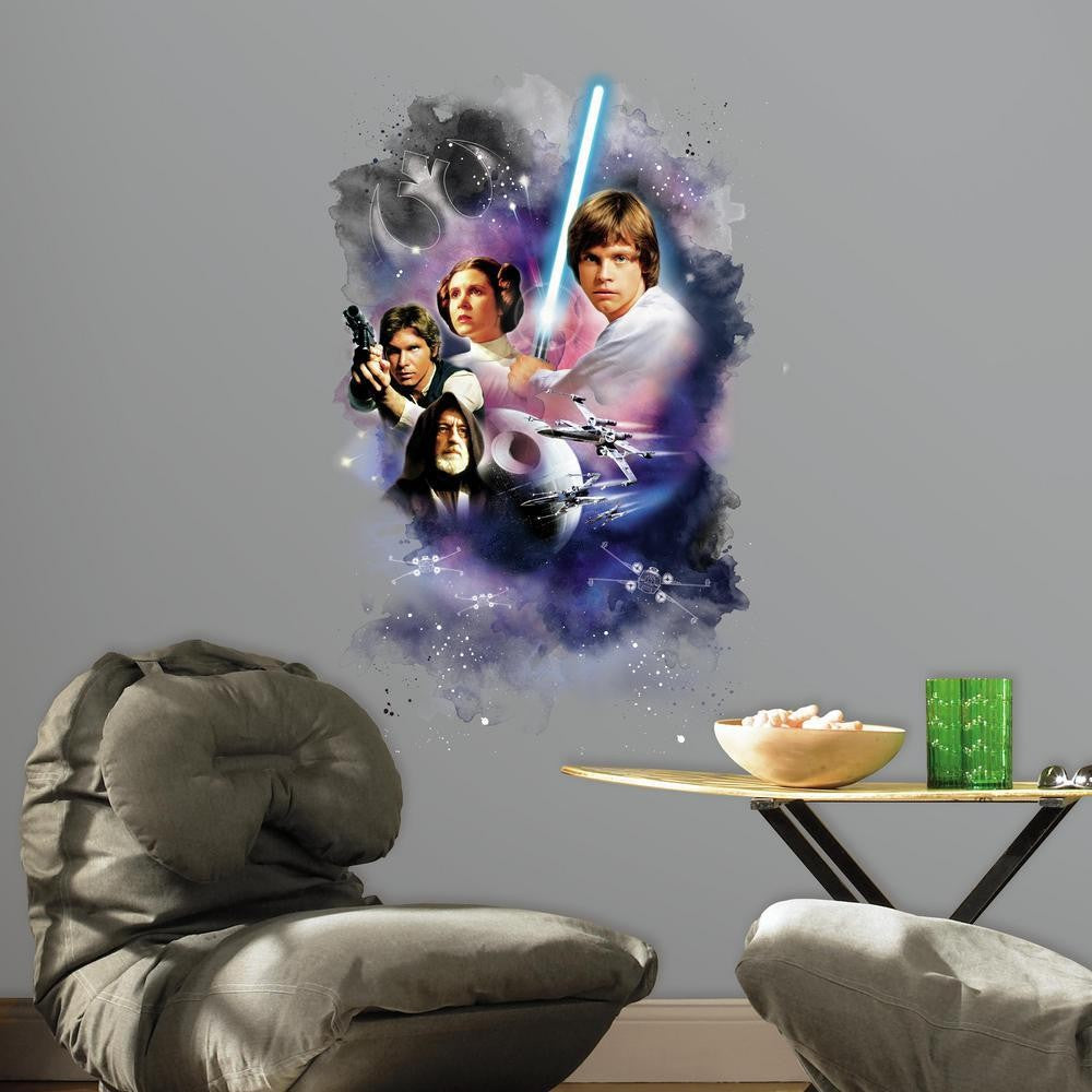 Star Wars Classic Mega Wall Graphic - 7ProductGroup