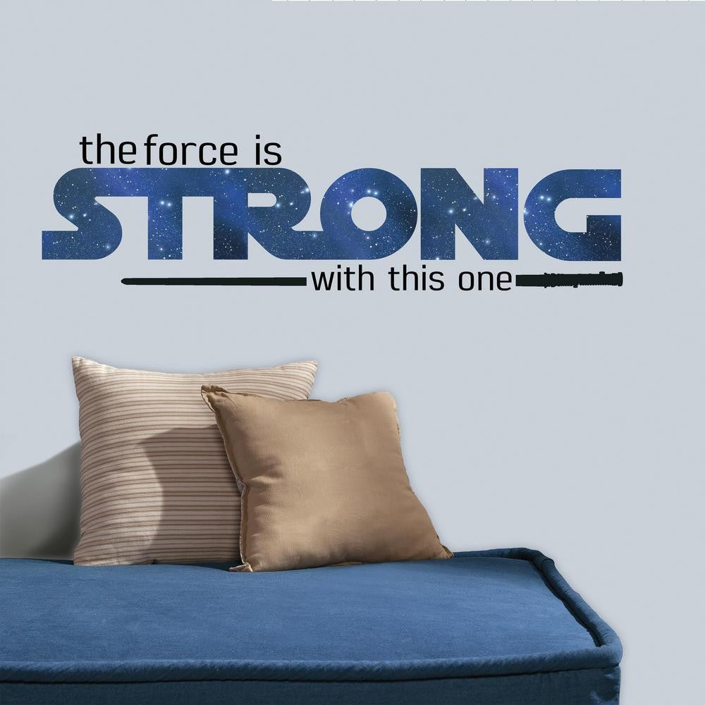 Star Wars Strong Quote Peel and Stick Wall Decals - 7ProductGroup