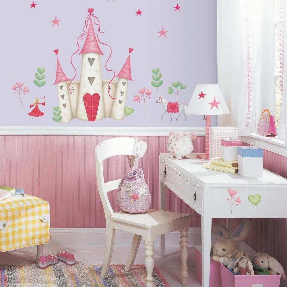 Princess Castle Giant Wall Decal - 7ProductGroup