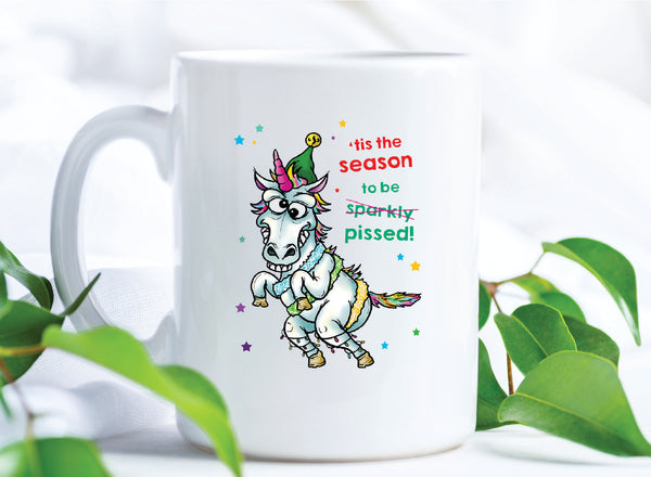Tis The Season To Be Pissed Mug