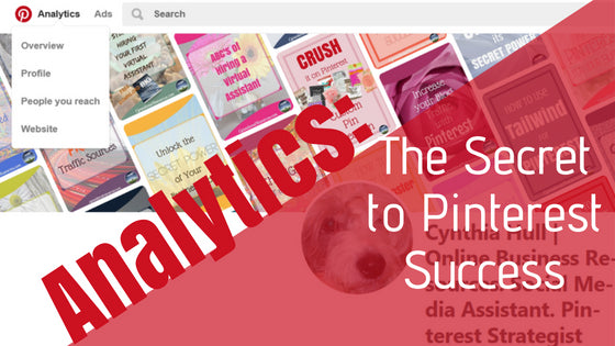 Analytics: The Secret to Pinterest Success is Free and Easy