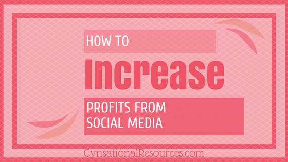 How to Increase Profit from Social Media