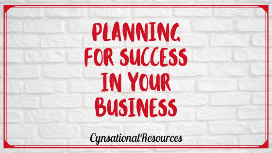 Planning for Success in Your Business