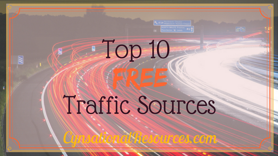 Top 10 Free Traffic Sources (Plus ONE BONUS)