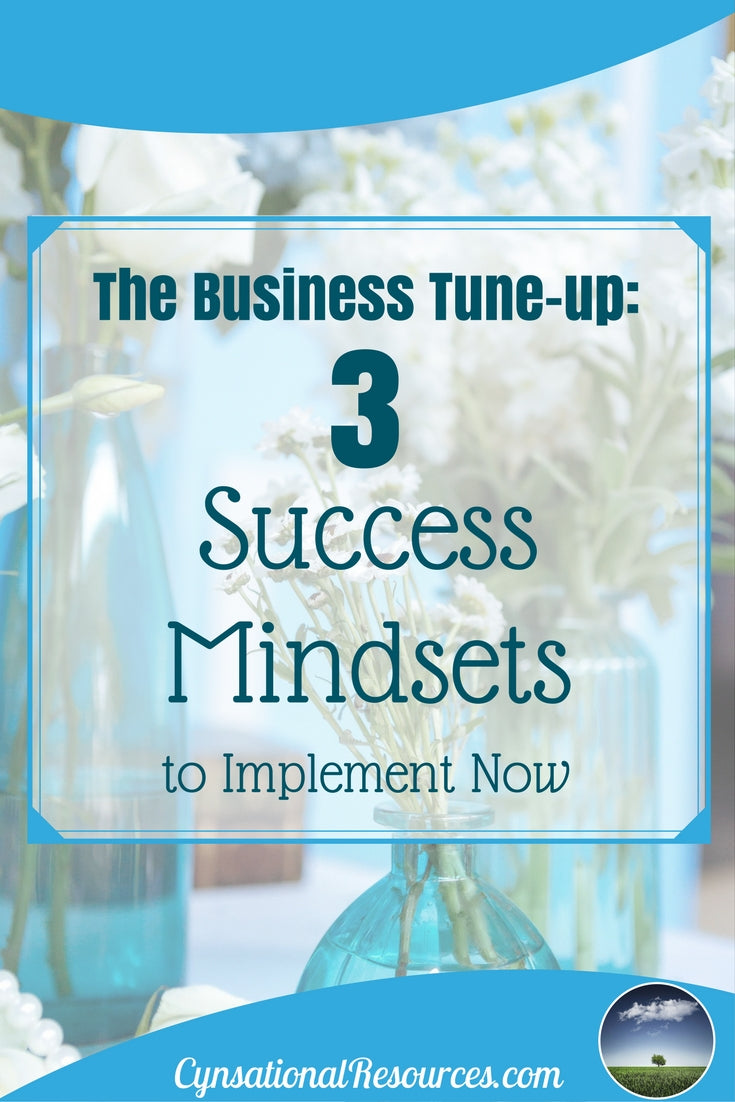 3 success mindsets