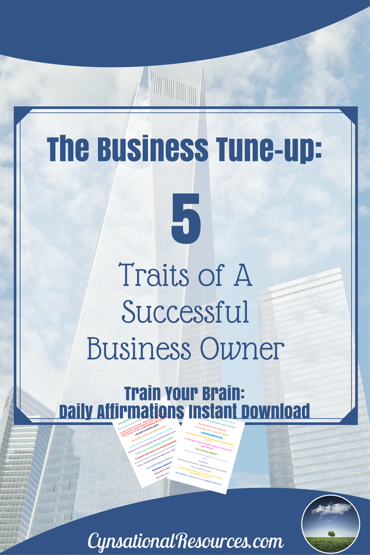 5 traits of a successful business owner