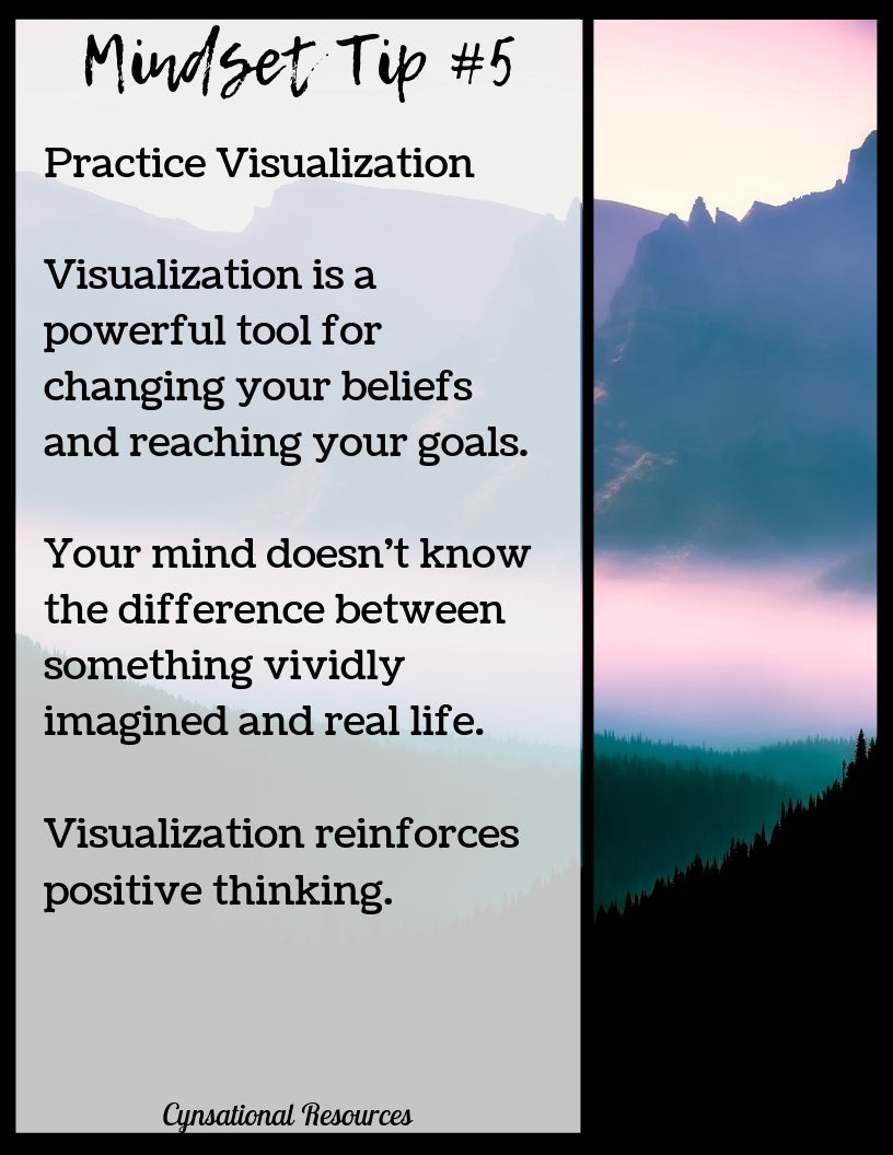 Mindset Tip #5 Practice Visualization