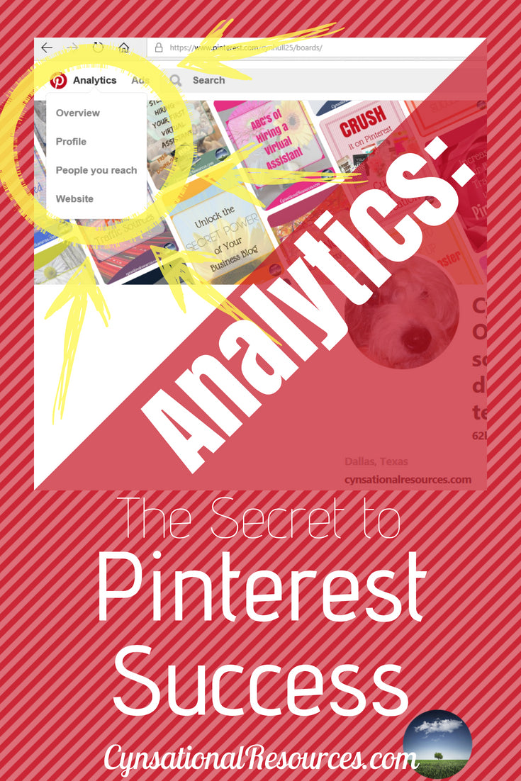 Analytics The Secret to Pinterest Success